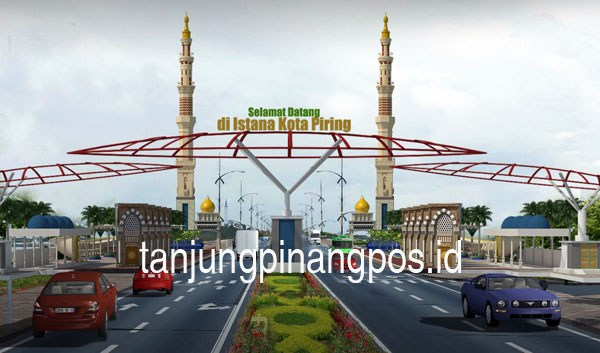 Proyek Gurindam 12 Disoroti Dewan Tanjungpinang Pos Gerbang Taman Kota