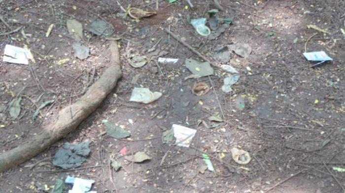 Taman Gurindam Ditemukan Bekas Kondom Berserakan Kota Tanjungpinang