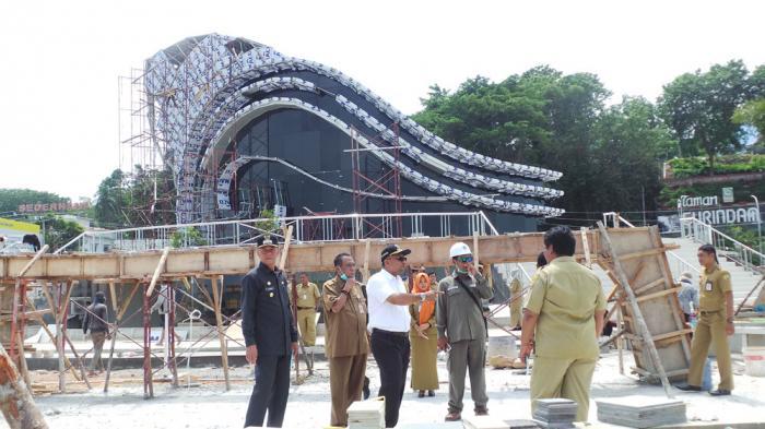 Wapres Jusuf Kalla Dijadwalkan Resmikan Gedung Gonggong Tanjungpinang Kapan Taman