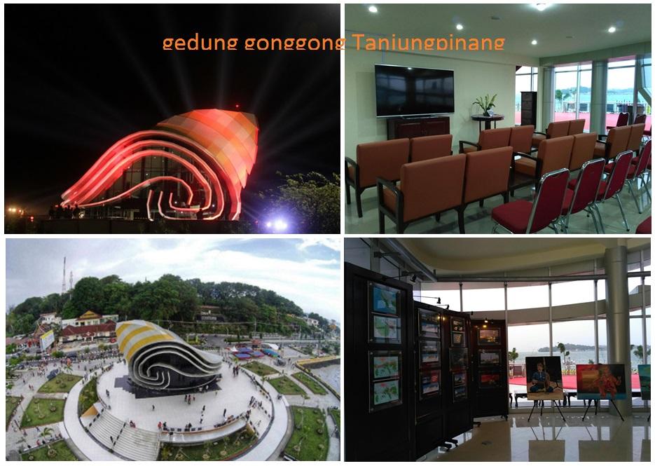 Gedung Gonggong Tanjungpinang Info Tugu Legenda Kota