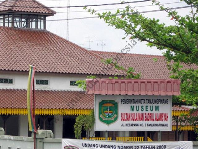 Museum Sultan Sulaiman Badrul Alam Syah Tugu Pensil Kota Tanjungpinang