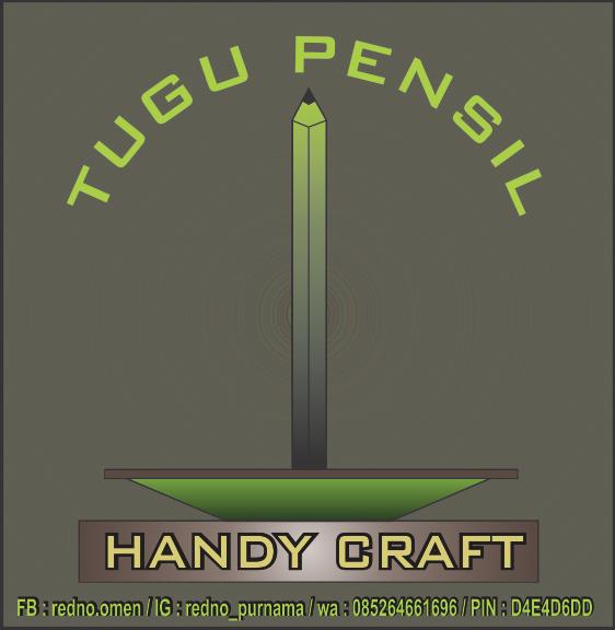 Pusat Kerajinan Handcraft Limbah Cangkang Kerang Dll Logo Resmi Tugu