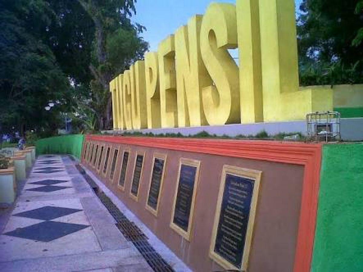 Tahukah Sejarah Tugu Pensil Kota Tanjung Pinang Kepri7 Images 2
