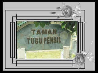 Taman Tugu Pinsil Pensil Kota Tanjungpinang
