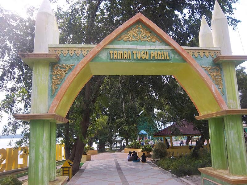 Tanjung Pinang Negeri Pantun Kota Gurindam Tugu Pensil Tempat Favorit