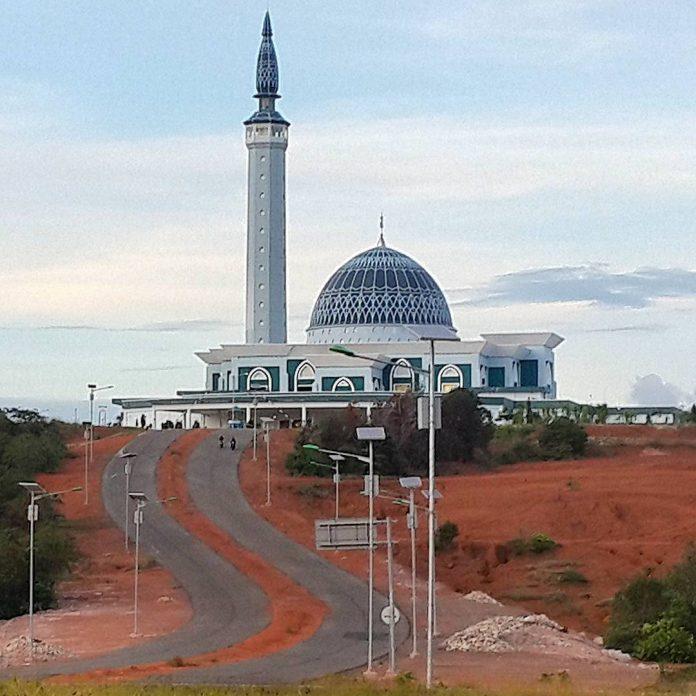 Inilah 16 Destinasi Wisata Kota Tanjungpinang Wajib Dikunjungi Masjid Raya