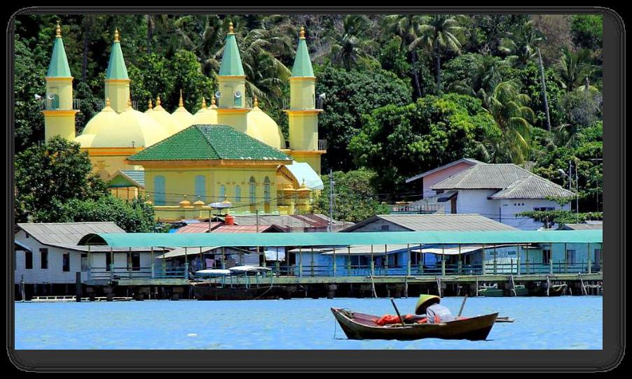 Kota Tanjungpinang Pelabuhan Laut Sejarah Transportasi Keresidenan Pusat Kegubernuran Terletak