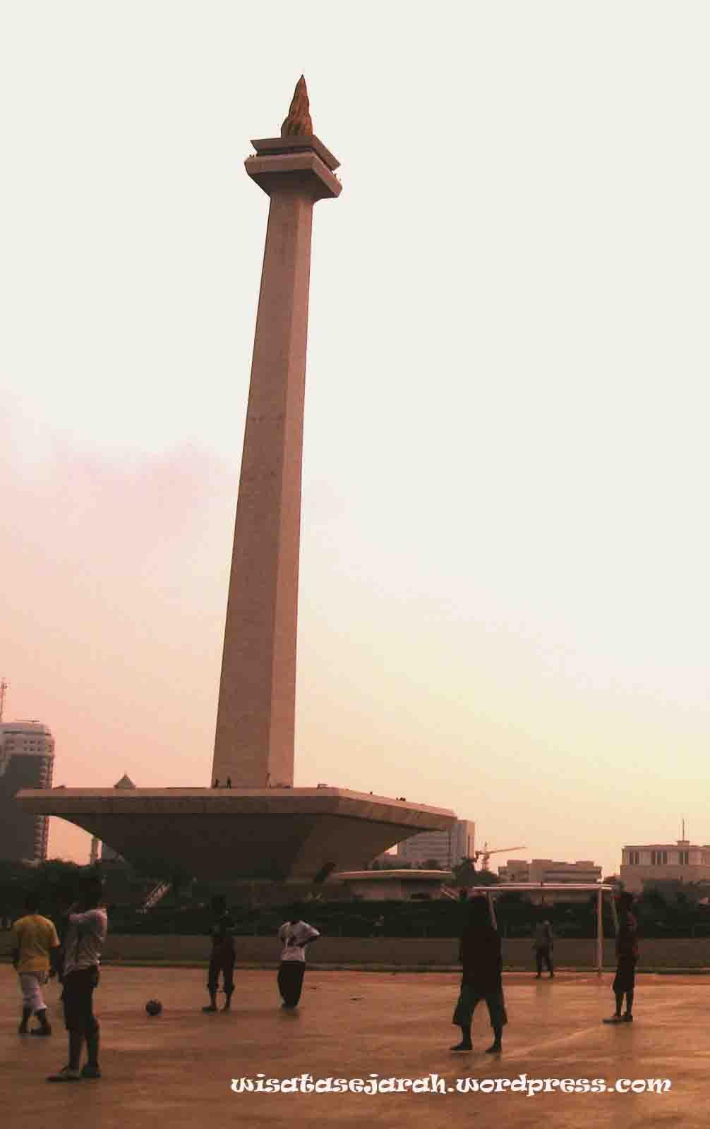 Monumen Nasional Wisata Sejarah Indonesia Didirikan Tanggal 17 Agustus 1961