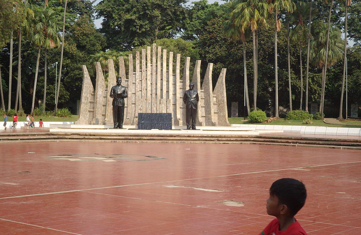 Tugu Proklamasi Wikipedia Bahasa Indonesia Ensiklopedia Bebas Riau Kota Tanjungpinang