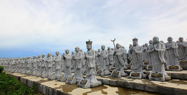 500 Lohan Temple Tg Pinang Bintan Island Indonesia Interesting Ksitigarbha