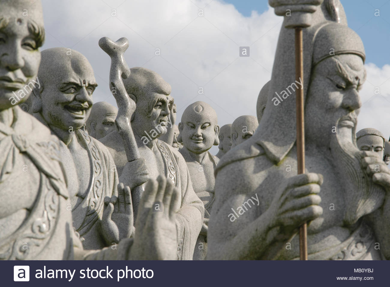 Ksitigarbha Stock Photos Images Alamy Tourism Statue Sculpture Thousand Buddhas