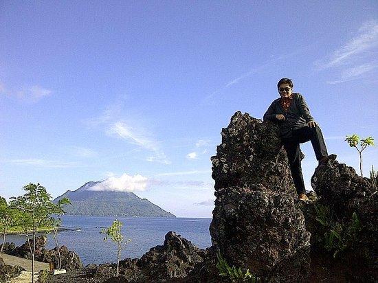 Batu Angus Beautiful Mt Hiri Sea Ternate Kota