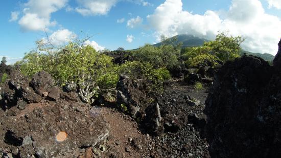Batu Angus Ternate Tempat Menakjubkan Picture Gamalama Mountain Lava Flood