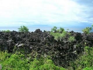 Batu Angus Wisata Maluku Kota Ternate