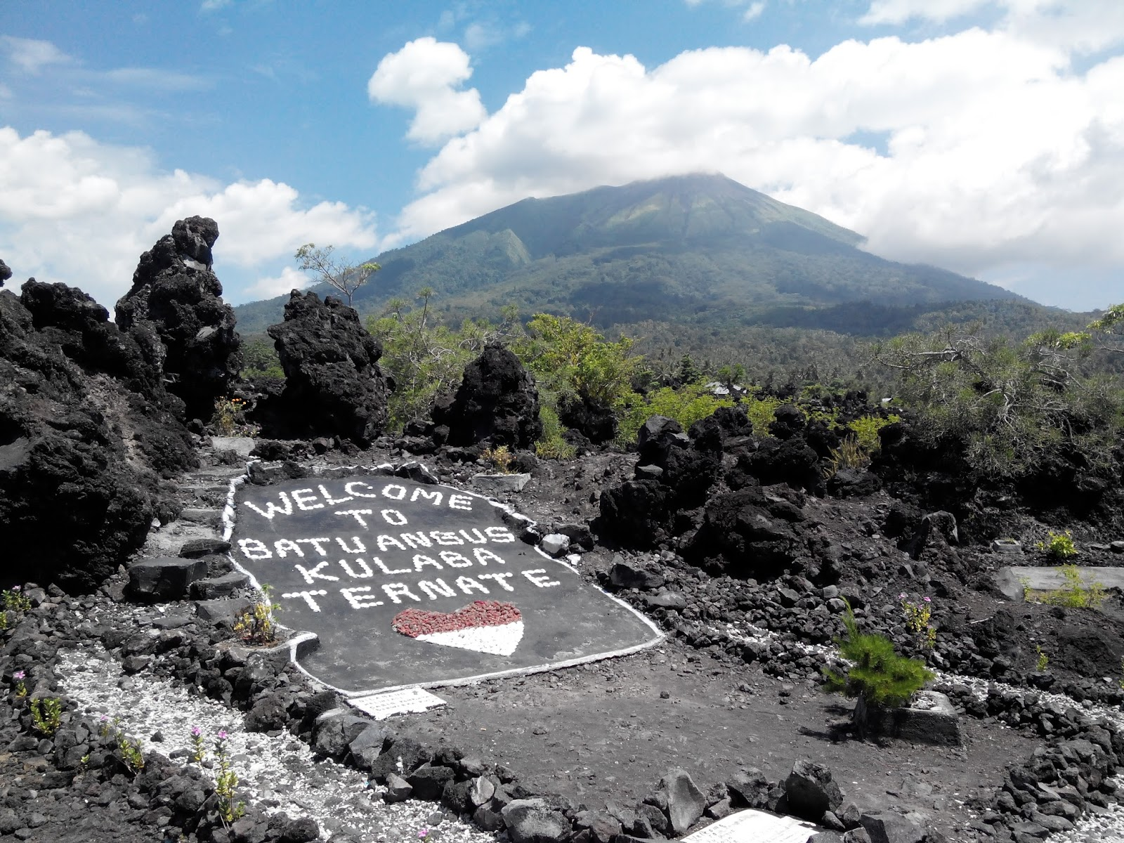 Indonesia Tourism Batu Angus Stone Ternate Top Attraction Kota