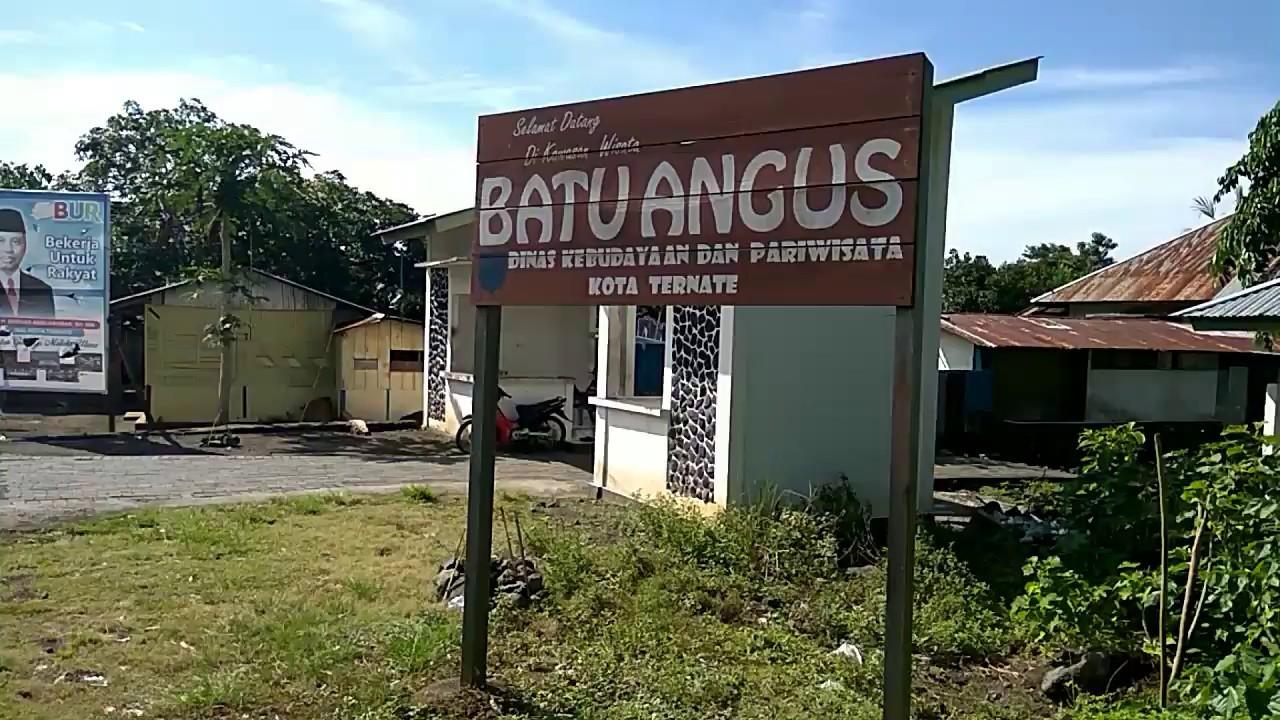 Tempat Wisata Batu Angus Desa Kulaba Ternate Maluku Utara Youtube