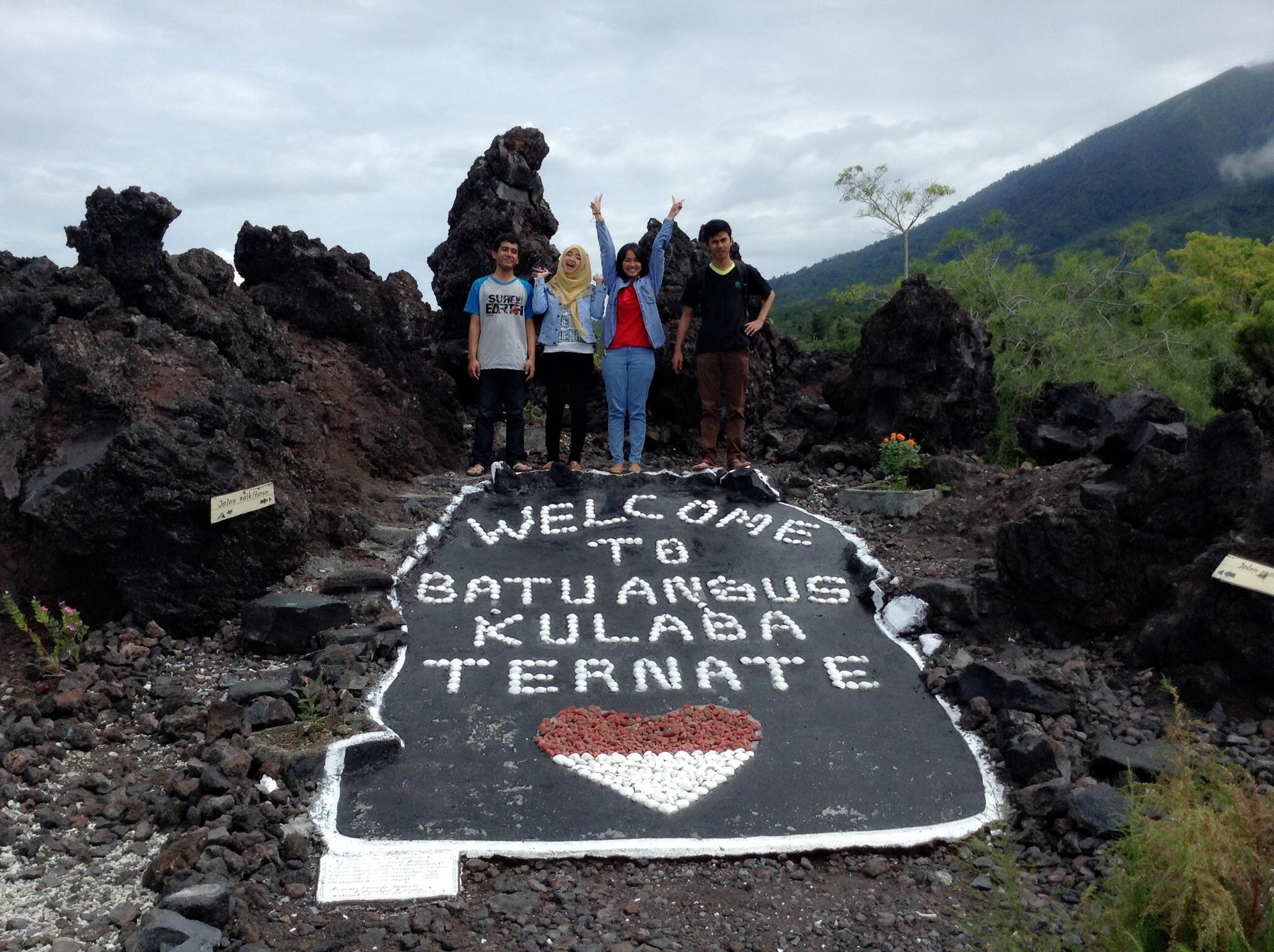 Wisata Batu Angus Kaki Gunung Gamalama Serendipity Lokasinya Tidak Terlalu