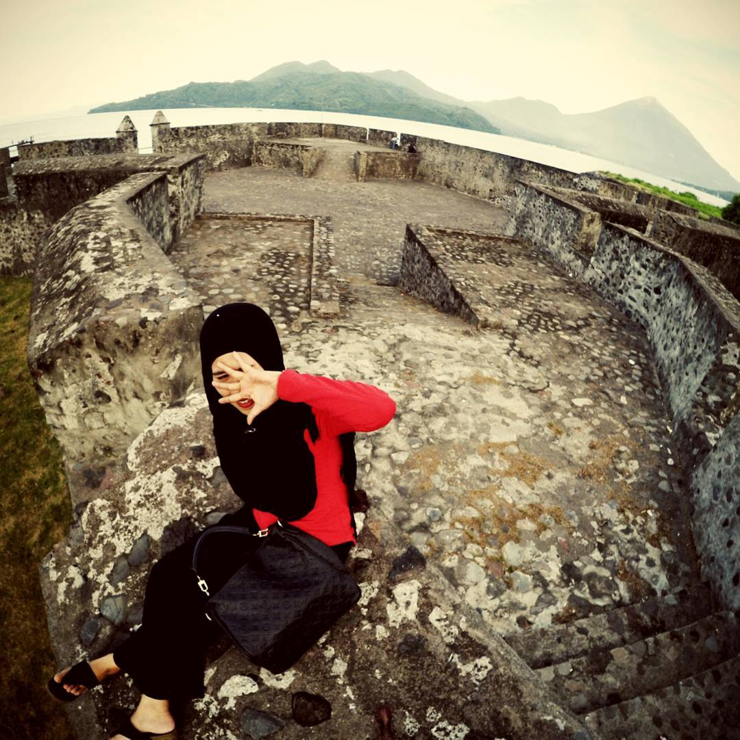 Benteng Kalamata Wisata Sejarah Peninggalan Portugis Ternate Kota
