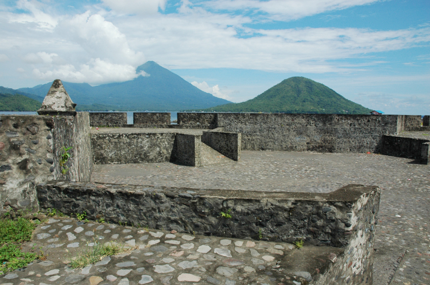 Kalamata Fortress Ternate Indonesia Welcoming World Benteng Kota