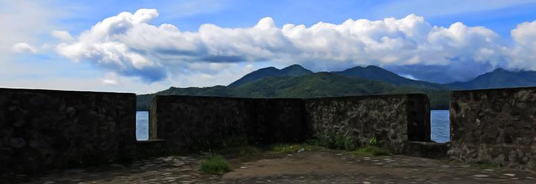 Kayu Merah Benteng Kalamata Tunawisma Kota Ternate