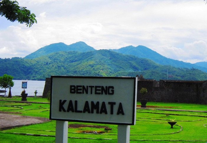 Mengekplorasi Wisata Pulau Ternate Mochamad Ramdani Benteng Kalamata Info Kota