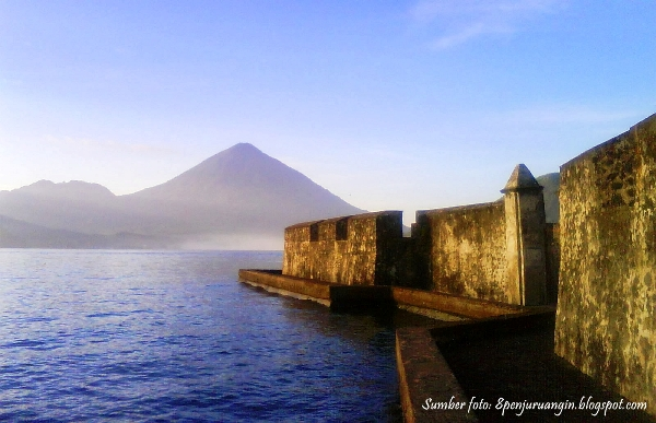 Perjalanan Kota Ternate Benteng Kalamata Turisma Travel