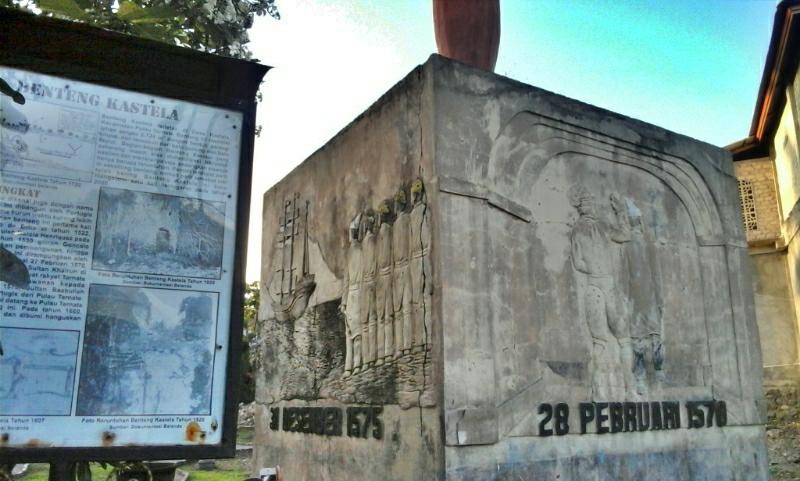 Perkici Kie Raha Benteng Kastela Peninggalan Portugis Kota Ternate Akhirnya