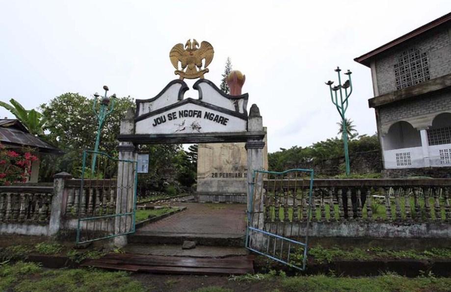Tempat Wisata Sejarah Benteng Kastela Maluku Utara Tempatku Kalamata Kota