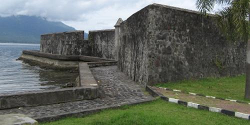 Ternate Smile Benteng Kalamata Santa Lusia Fortress Lucia Kota