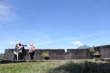 Zonasi Benteng Kalamata Balai Pelestarian Cagar Budaya Maluku Utara Ternate