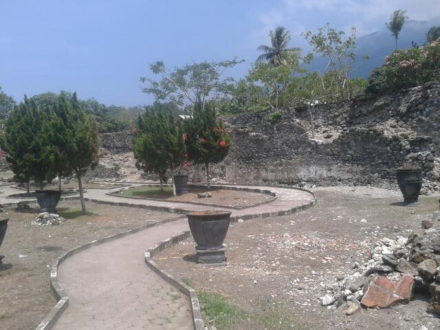 Arfive Gandhi Ekspedisi Ternate Benteng Kastela Kota Janji