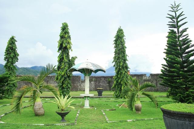 Benteng Kalamata Santa Lucia Mengenal Ternate Disebut Kayu Merah Semula