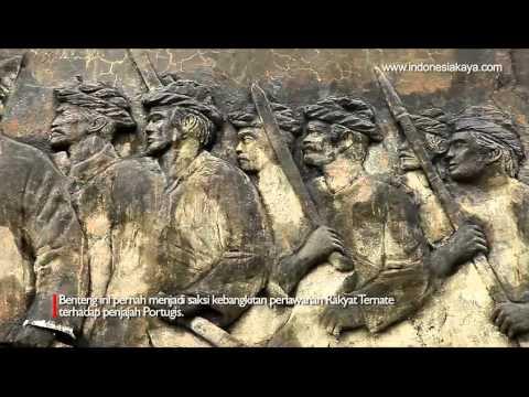 Benteng Kastela Ternate Youtube Kota