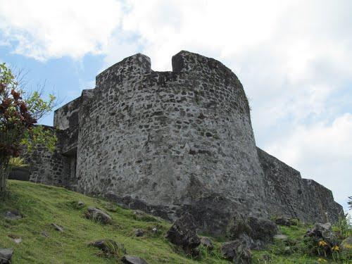 Benteng Kota Janji Ternate North Maluku Tourism City Promise Fortress