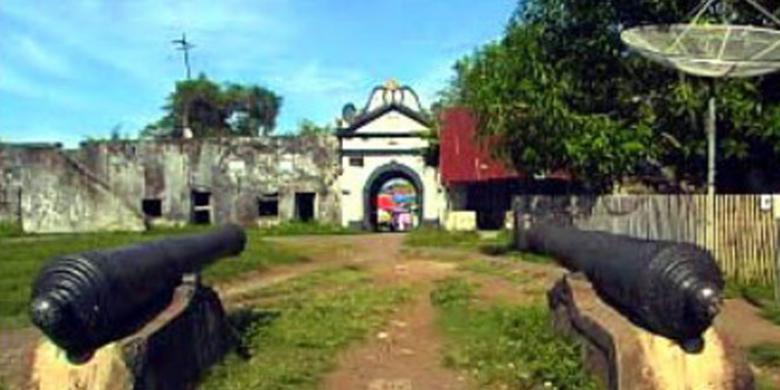Benteng Ternate Dibangun Demi Cengkeh Kompas Kastela Kota