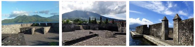 Indonesia Tourism 14 Places Visit Ternate North Benteng Kota Janji