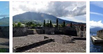 Indonesia Tourism Fort Kalamata Ternate History Tour Benteng Kastela Kota
