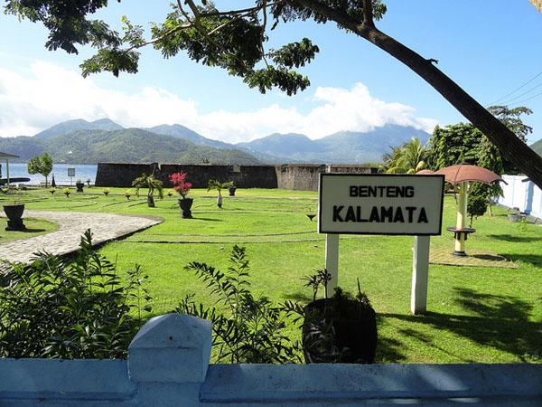 Kalamata Fortress Ternate North Maluku Tourism Island Rich Spices Tidore