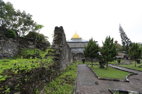 Kastela Fortress Ternate North Maluku Tourism Portuguese Heritage Located Santo