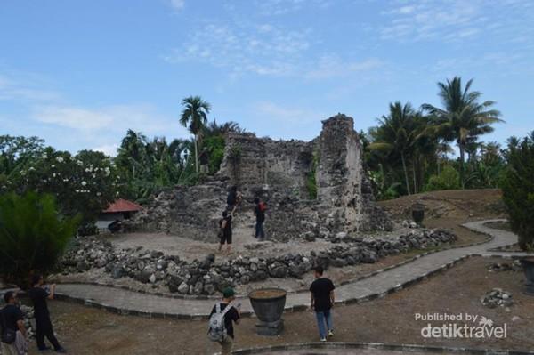Laskar Gerhana Jelajah Benteng Bersejarah Ternate Kastela Didirikan Oleh Potugis