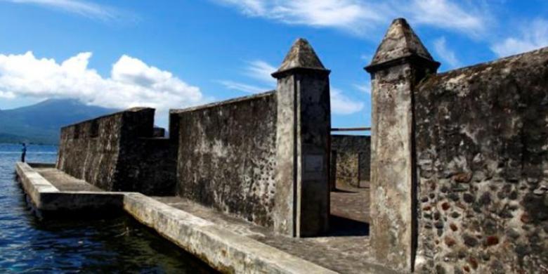 Pemkot Ternate Mengelola Benteng Kalamata Kompas Kastela Kota