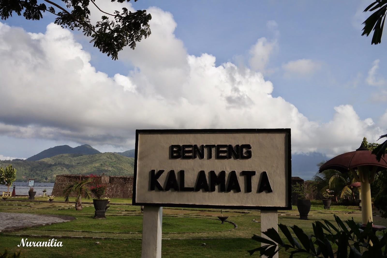 Ternate Maluku Utara Galau Benteng Kalamata Berdiri Jalan Kelurahan Bastion