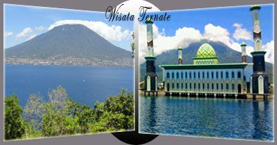 Aftar Wisata Populer Terbaik Ternate Tempat Maluku Papua Prov Utara