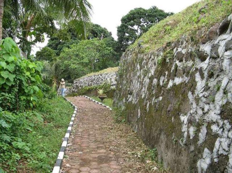 Benteng Kota Janji Ternate Cultiural Heritage Preetify Area Tourims Destination