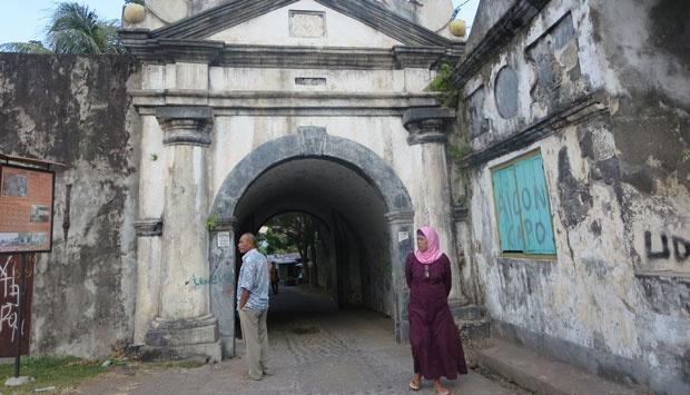 Benteng Oranje Ternate Direvitalisasi Travel Tempo Gerbang Utama Fort Tengah