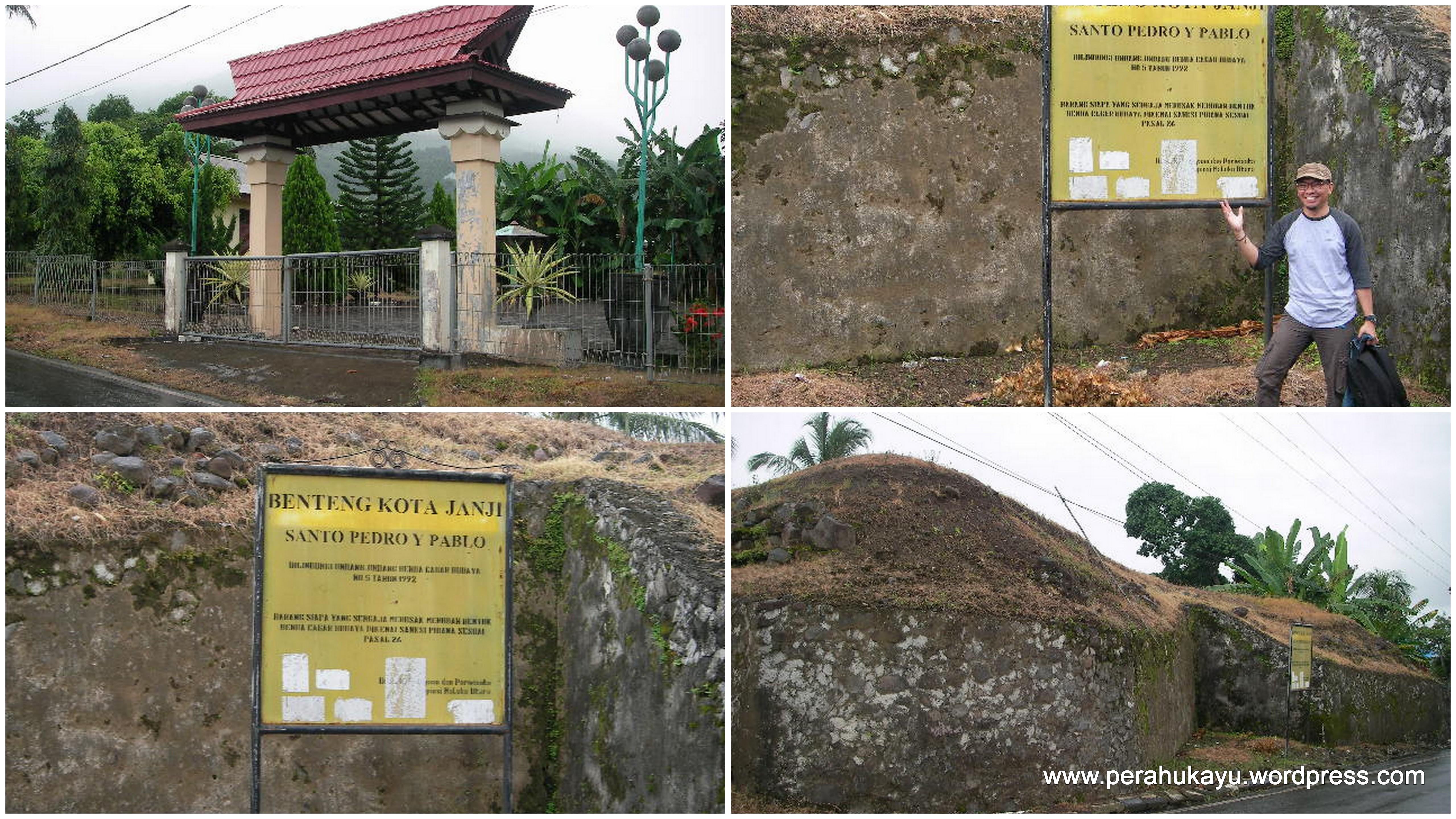 Dentum Sejarah Benteng Ternate Perahu Kayu Kedua Kota Janji