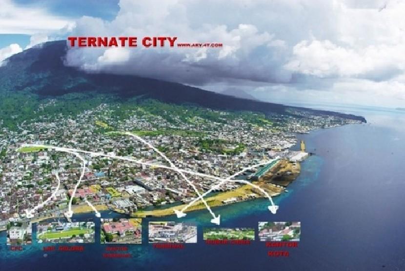 Dinding Benteng Oranje Ambruk Republika Online Kota Janji Ternate