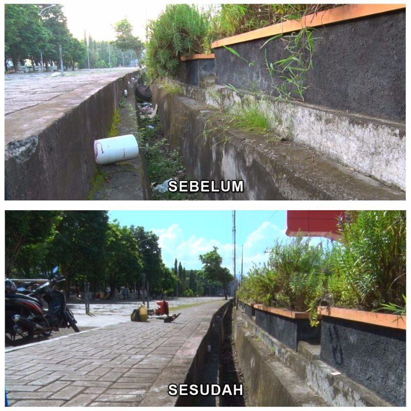 Ramai Bersihkan Fort Oranje Ternate Intim News Keberadaan Benteng Tengah