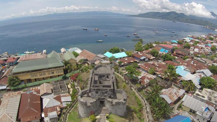 Rekomendasi Destinasi Wisata Datang Kota Ternate Oleh Benteng Janji