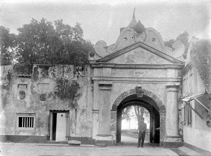 Sejarah Benteng Orange Terletak Dipusat Kota Ternate Tepatnya Kelurahan Gamalama